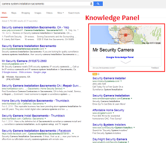 Google Knowledge Panel creation service